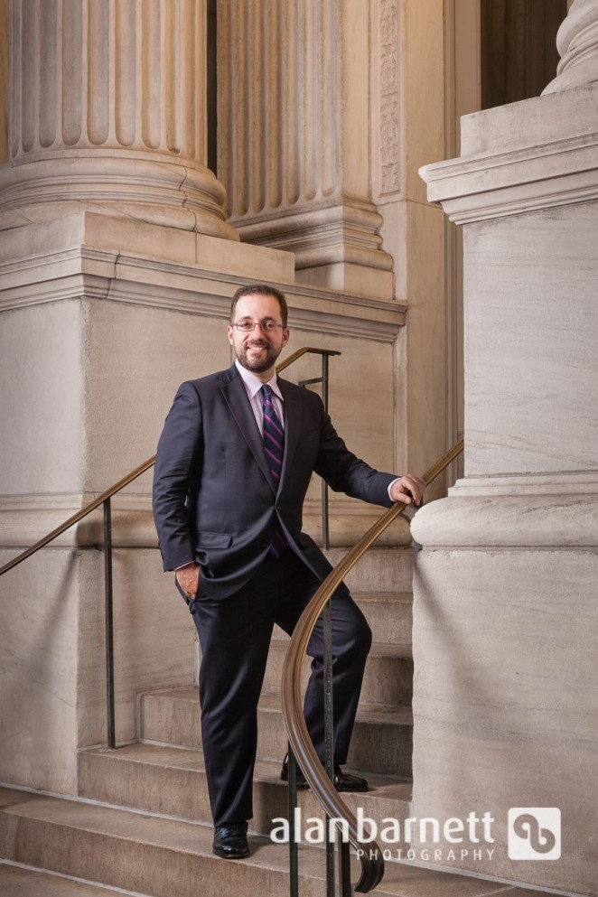 Attorney portrait in front of Appellate Court
