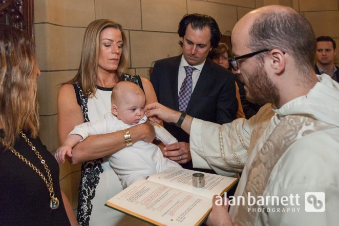 Baptism at St. Vincent Ferrer in New York City