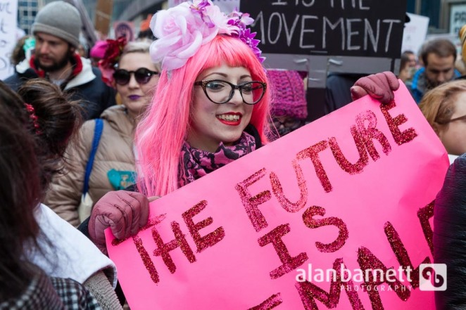 Women's March in New York City