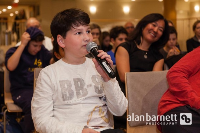Central Synagogue's Hebrew School Students Present Their Class Projects