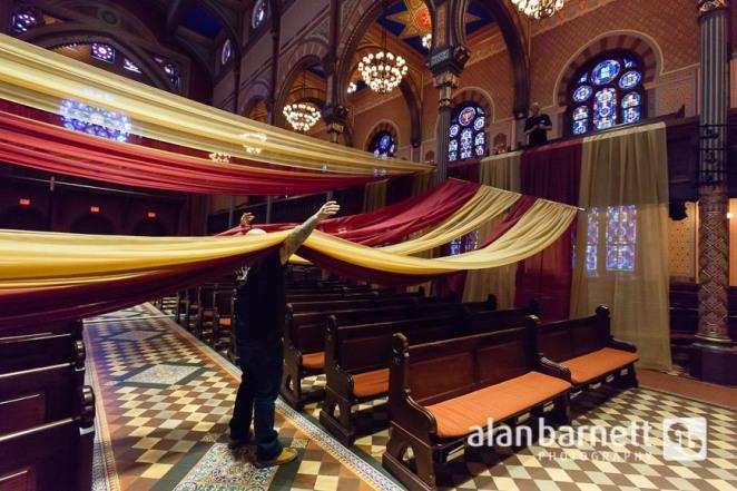 Central Synagogue seder tent
