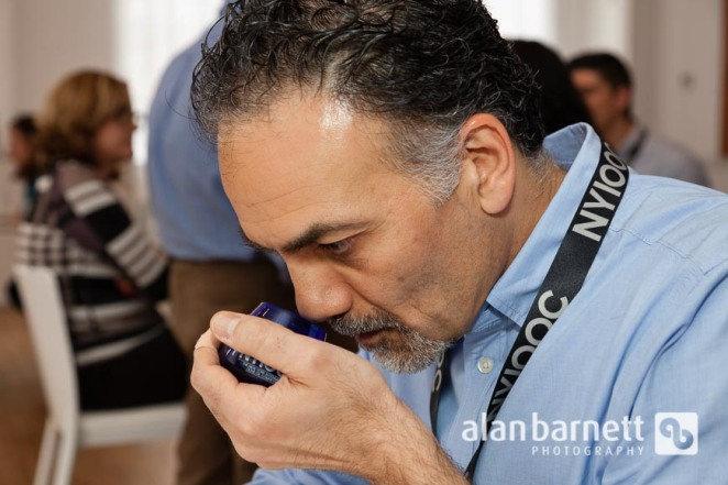 New York International Olive Oil Competition judging