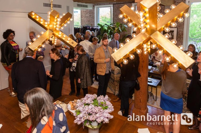 Reception for Greenwich Village Society for Historic Preservation Spring House Tour