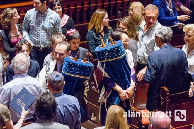 Board installation at Central Synagogue