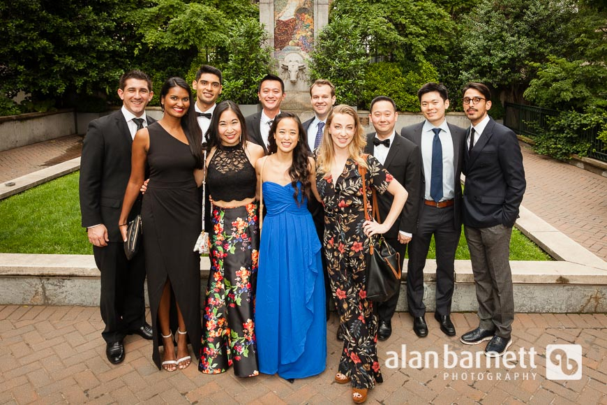 Guests of NYU Langone Medical Center Department of Radiology Enter Gustavino's for the Annual Resident Graduation Dinner