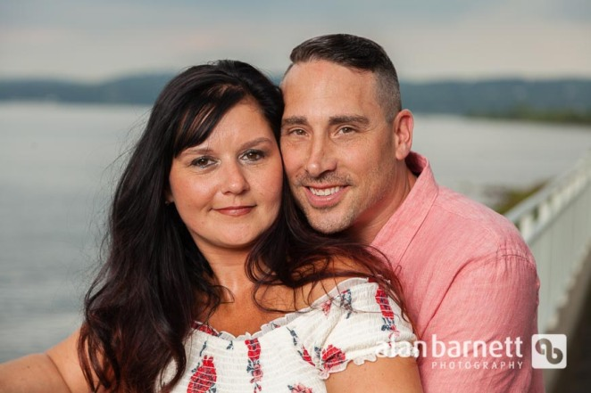 Angela and Jason Take Their Vows in Piermont, NY