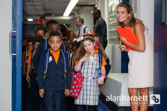 First day of school at Success Academy Washington Heights