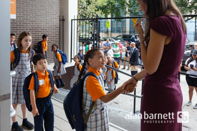 First Day of School at Success Academy Upper West
