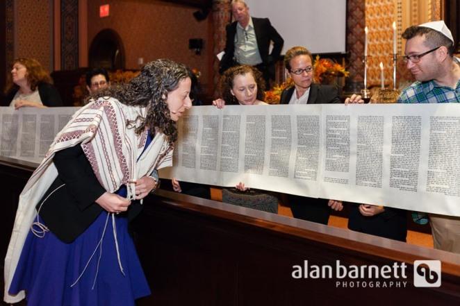 Simchat Torah at Central Synagogue