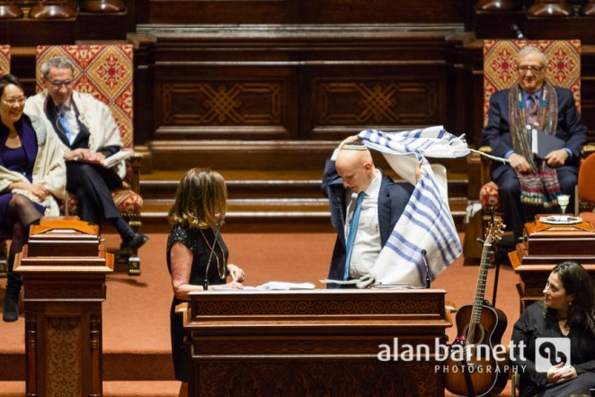 Daniel Mutlu is installed as senior cantor at Central Synagogue