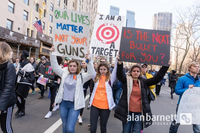 March for Our Lives in New York City