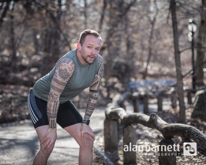 Physical Therapist Runs in Central Park