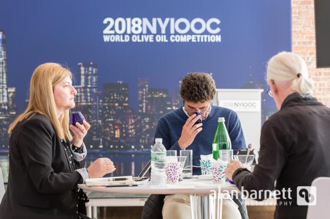 2018 New York International Olive Oil Competition Judging