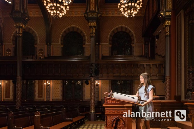 Bat Mitzvah Portraits at Central Synagogue
