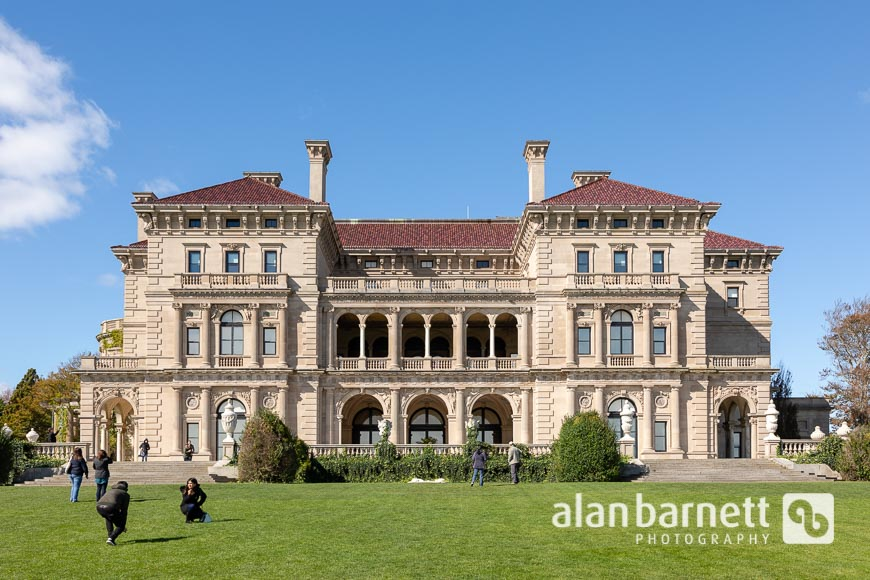 The Breakers Historic Mansion in Newport, Rhode Island