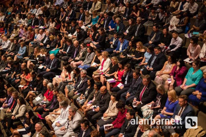 NYU School of Medicine Class of 2018 Graduation Ceremony at Alice Tully Hall
