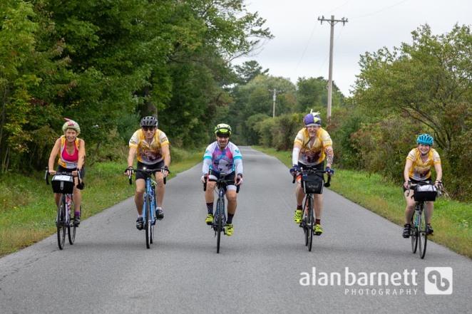 Day 1 on BRAKING AIDS Ride 2018