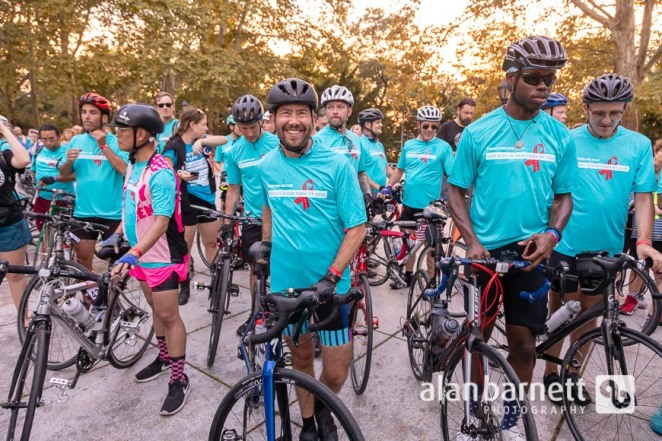 Closing Ceremony for BRAKING AIDS Ride 2018