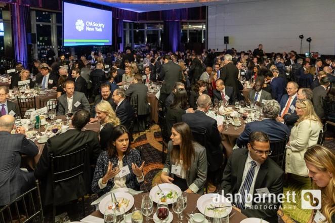 CFA Society New York 81st Anniversary Dinner at Mandarin Oriental