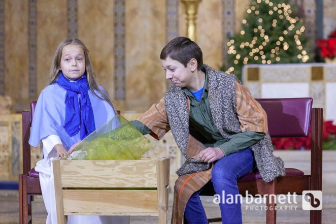 Christmas Pageant at St. Bart's Church