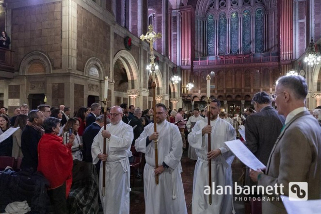 Christmas Eve Eucharist Service at St. Bart's Church