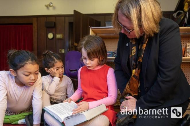 Sunday School at Saint Thomas Church