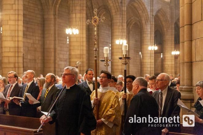 Holy Eucharist Service at Saint Thomas Church