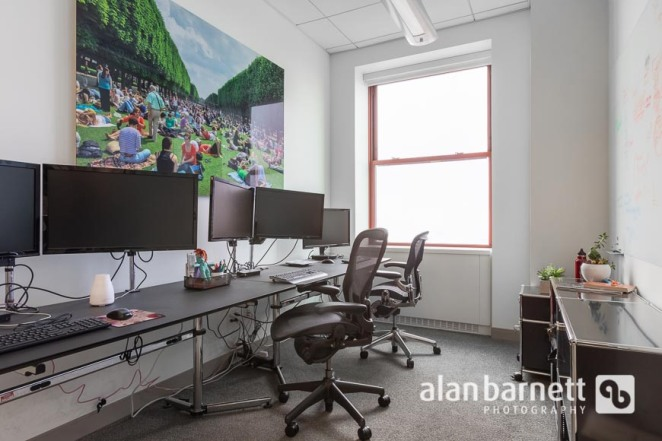 Photos of a Company's Empire State Building Office