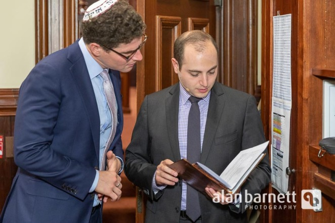 Installation of Rabbi Dan Ross at Central Synagogue