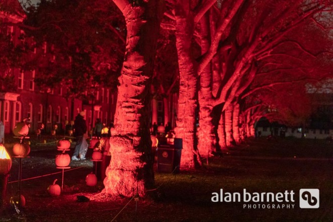 Night of a Thousand Jack O'Lanterns on Governors Island