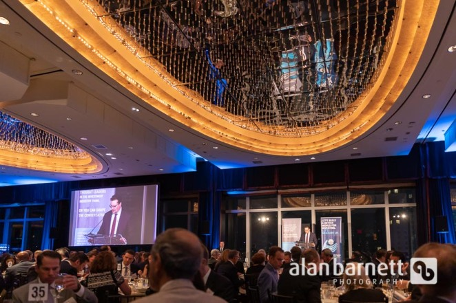 CFA Society New York's 82nd Annual Dinner at the Mandarin Oriental