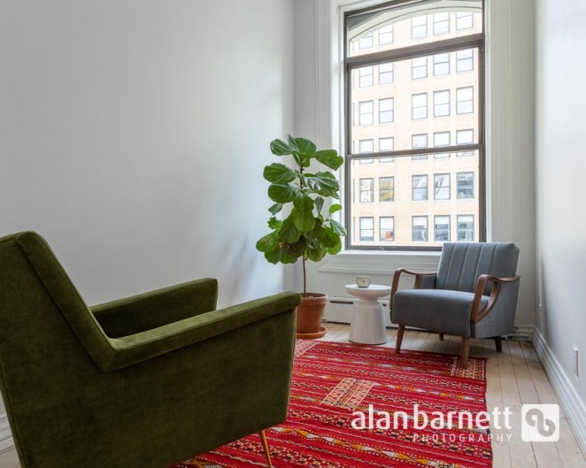Photos for a New Psychotherapy Suite in Nomad