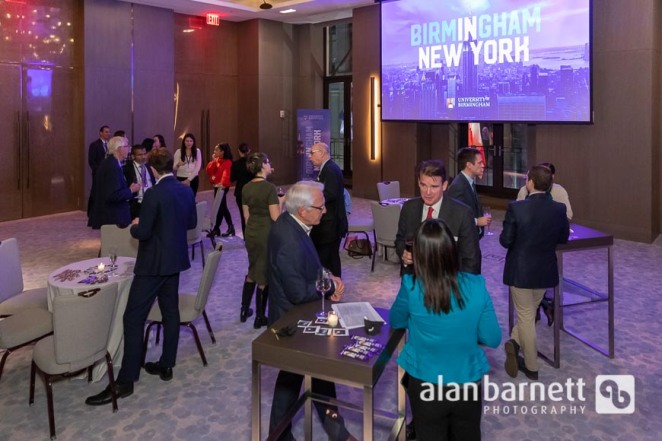 University of Birmingham New York Alumni Reception at Four Seasons Downtown